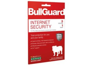 Bullguard Internet Security beschermt tot 3 apparaten.